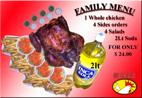 menu family